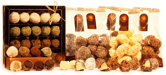 Truffes au chocolat en Irlande
